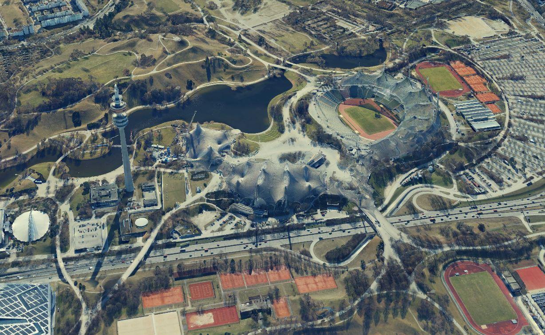 Olympiapark München 3D