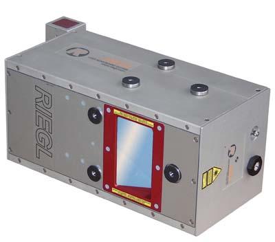 Laserscanprojekte führen wir mit dem RIEGL Q680i durch.
